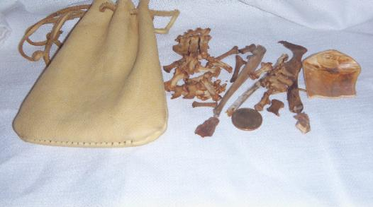 BONE THROWING SET